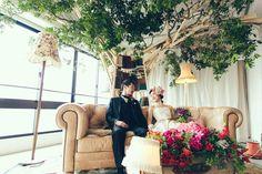 Stage / 髙砂 / crazy wedding / ウェディング / 結婚式 / オリジナルウェディング/ オーダーメイド結婚式