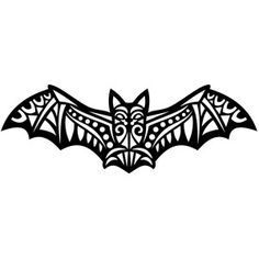 Silhouette Design Store - View Design #142469: tribal bat