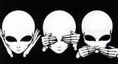 hear no evil • see no evil • speak no evil