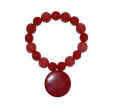 Pulseira pedra natural red    http://matka.com.br/pulseira-pedra-natural-red.html