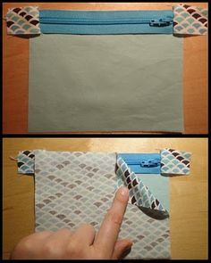Good Zippered Clutch Tutorial. Explains how to sew around those frustrating zipper tabs from Carly @ A Sewcial Life