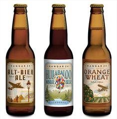 Hangar 24 Craft Brewery Bottles