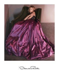 Exclusive: Peter Copping's First Oscar de la Renta Campaign Revealed