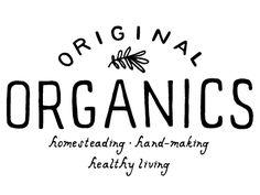original organics logo by Jessica Bruggink                                                                                                                                                                                 More