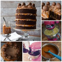 Blue Door Bakery Online Recipe guide download. Chocolate Cake with Salted Caramel Sauce   http://bluedoorbakery.co.uk/class/double-height-chocolate-cake-salted-caramel-sauce