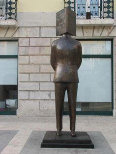Hommage à Fernando Pessoa, à Lisbonne