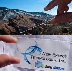 SolarWindow Gets Green Light from NREL