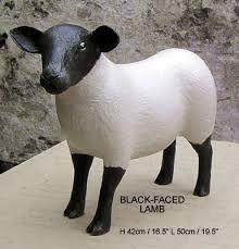 paper mache sheep head - Google Search
