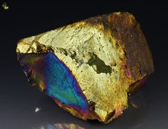 Chalcopyrite with Covellite, Pyrite, and Galena