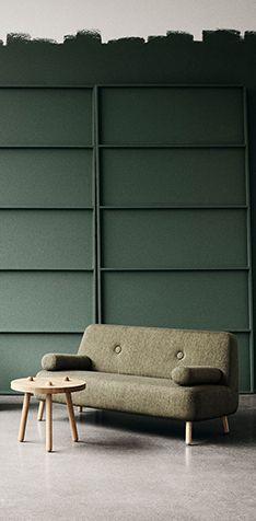 Sofaer af Charlotte Høncke vita Sofa Design, Outdoor Sofa, Outdoor Furniture, Outdoor Decor, Sofas, Interior Colors, Elegant, Colorful Interiors, Designer