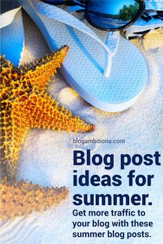 Not sure what to blog about this summer? Write blog posts that people are searching for. Use popular keywords to inspire your blog articles this summer. Via @blogambitions