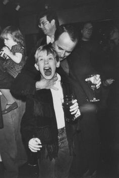HOME ALONE (1990) Behind the scene (Macaulay Culkin and Joe Pesci)