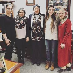 #universallearningacademy #studentgovernment executive members attended a lunch invitation by Mrs. Nawal Hamadeh Superintendent of ULA and President of HES and discussed her journey as an Arab American entrepreneur and educator and the history of the birth of Universal Learning Academy. #hesacademies