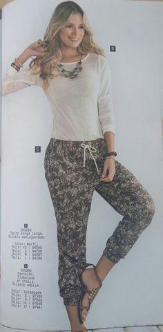Pantalon ancho