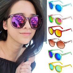 9aa83989a7 Women s Men s Sunglasses Eyeglasses Outdoor Driving Seaside Eyewear Round Lens  Sunglasses