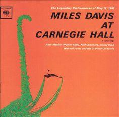 "Miles Davis' ""At Carnegie Hall"" album #NowPlaying #Jazz"