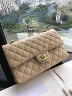 Chanel Bags New Season There are lots of luxury and well designed Chanel bags in the stores this season. I mean, who doesn't like a Chanel bag? Luxury Handbag Brands, Luxury Purses, Luxury Bags, Luxury Handbags, Chanel Purse, Chanel Handbags, Purses And Handbags, Chanel Bags, Cheap Handbags