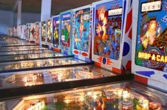 The Pinball Hall of Fame is a Non-Profit that has a large collection of pinball machines collected over the years.