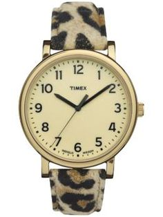 Timex leopard watch, $60 at Piperlime