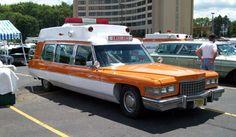 Cadillac Ambulances classic vintage early E.M.O.