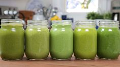 5 Green Smoothie Recipes!