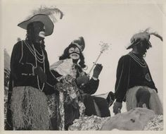 Louis Armstrong in black face as King of Zulu - Louis Armstrong returned in 1949 to his hometown to be crowned king of the Mardi Gras. Members of the Zulu Social Aid and Pleasure Club, who had invited Armstrong, dressed in blackface as in a minstrel show, a parody of white attitudes toward black people. The fun ended for Armstrong, however, when the Carnival did. He bemoaned the segregation of his hometown and vowed not to return.