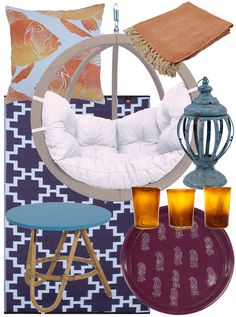 """Relaxing Patio Design Ideas - Garden furniture and accessories - Hutsly. The Joneses have got new garden furniture; and they're bragging about it. Of course your competitive self is thinking: """"I could do better"""". But decorating a patio, a backyard, a porch, a balcony or a terrace is no easy task and you may be lost for ideas. Where to start? Right here!"""