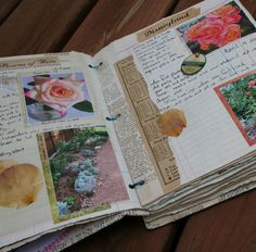 find a journaling practice that fits your personality ~ some write, some collage, others junk journal, etc.