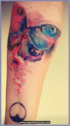 Abstract Tattoo for Girls and Colorful for Women and for Men.