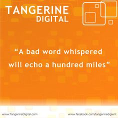 Tangerine Digital : So, don't take any chance for your brand.   Consult the experts of content, TANGERINE Digital.