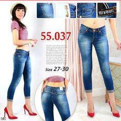 """""Celana jeans RIJ 55037 Material: soft jeans Harga: 135 Size: 27-30 Order PIN CS1-5A1F32FA PIN CS2-5FI5DE72 & SMS/WA 087722-575-101  Reseller & Dropship Welcome!  Happy Shopping! :) #jamtangan #jamtanganwanita #jammurah #grosirjam #sweatercouple #flatshoes #jamtanganterbaru #resellerjamtangan #taswanita #sneakerscwe #celanajeansripped #jamtanganartis #olshop #wedgesterbaru #jaketjeans  #resellerwelcome #celanajeans #sepatubandung #celanajeanshw"