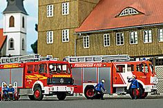 Busch Scale Model Cars