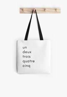 minimalist french numbers by Emma Coast