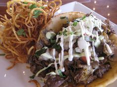 Puffy Flatton with Ribeye from Latin House in Kendall, Florida