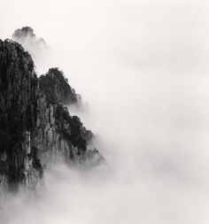 Huangshan Mountains, Study 6, Anhui, China | From a unique collection of black…