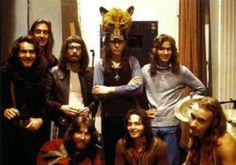 Le Orme una mia grande passione. Qui in una foto anni settanta con i Genesis.