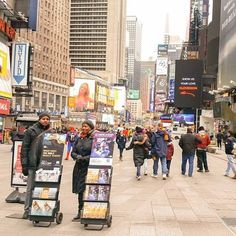 Public Witnessing in Times Square NY.
