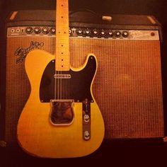 Fender Telecaster and Twin Reverb.