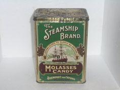 Old Can by Montyhallsshowcase on Etsy