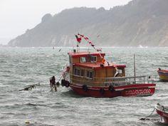 Barcos característicos Caleta Tumbes