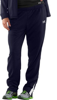 Women's Classic Knit Warm-Up Pants $54.99. These lightweight knit women's warm-up pants are the perfect fit when gearing up for gametime. #UnderArmour