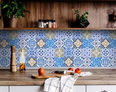 Ultimate solution for budget-savvy design enthusiasts looking to add a personalized and colorful touch to their space. The stickers are so easy to apply and remove! #tilestickers #kitchentilestickers #bathroomtilestickers #fireplacetilestickers #backsplashtilestickers #walldecorstickers #murals #wallmurals #walltilestickers #homedecor #stairtilestickers #wallstickers #decals #decalstickers Bathroom Tile Stickers, Tile Decals, Vinyl Tiles, Wall Decor Stickers, Wall Tiles, Peel And Stick Tile, Stick On Tiles, Kitchen Tiles, Kitchen Decor