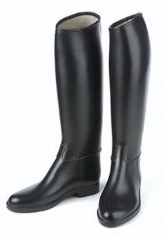 NEW SALVATORE FERRAGAMO Mens Black Knee High Thick Riding Boots ...