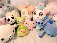 Kawaii Plush, Cute Plush, Cute Stuffed Animals, Sanrio, Plushies, Girly Things, Decoration, Hello Kitty, Teddy Bear