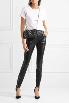 Chlo Crepe Tapered Pants Black Crepe Concealed Hook And Zip