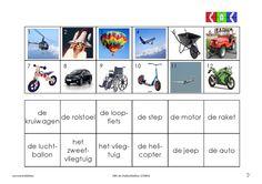 vervoermiddelen 8