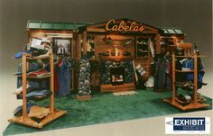 Very nice booth: well-branded, good traffic flow, & effective product displays ~ from ExhibitAssociates.com