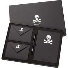 ☠ Skull Stationary Set ~   by Assouline ☠