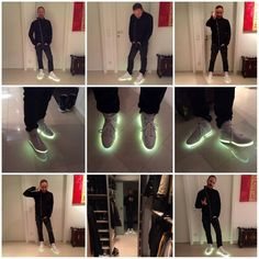 Philipp Straub looking awesome with his new Superlova sneakers!