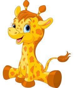 Cute Giraffe Icon